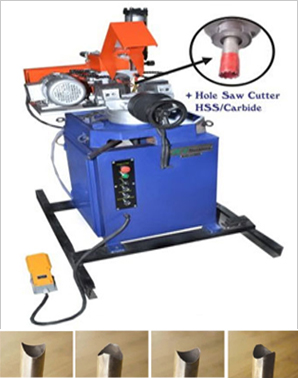 JE 400VS Semi Automatic Hydraulic Pipe Cutting Machine