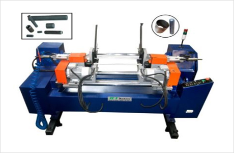 JE Dual Head Automatic Pipe / Bar Chamfering Machine (Short Length)