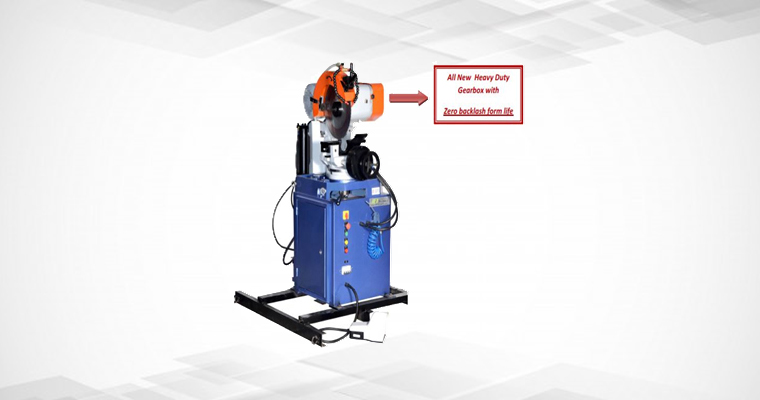 JE 375 Semi Automatic Pipe Cutting Machine