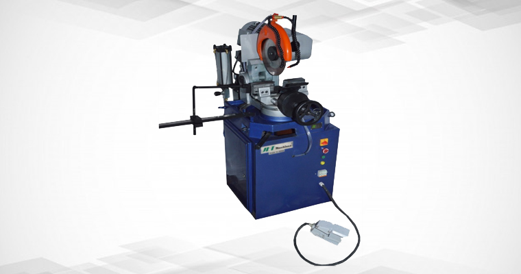 JE 315 Semi Automatic Pipe Cutting Machine